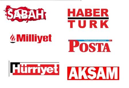 TÜRKİYE'NİN ÖNDE GELEN GAZETELERİNİN BUGÜNKÜ BAŞLIKLARI!..