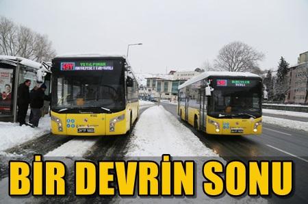 145 YILDIR YOLCU TAŞIYAN İETT OTOBÜSLERİ TARİH OLUYOR!..