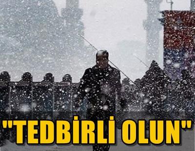 METEOROLOJİ'DEN KAR YAĞIŞI SONRASI YENİ UYARI GELDİ!