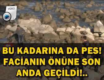 BİR SELFİE UĞRUNA, AZ KALSIN CANINDAN OLUYORDU!..