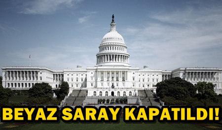 BEYAZ SARAY'DA ŞÜPHELİ PAKET ALARMI!
