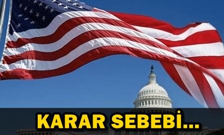 ABD'DE  FLAŞ OHAL İLANI!
