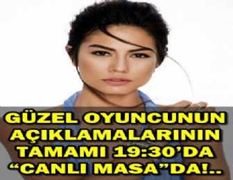 DEMET ÖZDEMİR AŞK İDDİALARI HAKKINDA UÇANKUŞ TV'YE KONUŞTU!..