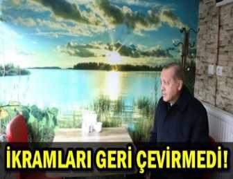 CUMHURBAŞKANI ERDOĞAN'A KASTAMONU'DA YOĞUN İLGİ!