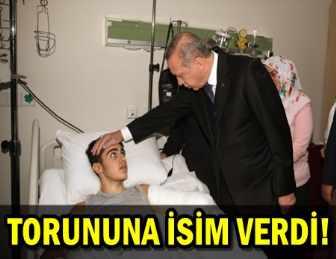 CUMHURBAŞKANI RECEP TAYYİP ERDOĞAN'DAN HASTA ZİYARETİ!