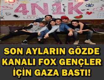 FOX'TAN EŞİ BENZERİ GÖRÜLMEMİŞ GENÇLİK PROJESİ!..